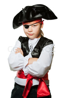 Image of 'pirate, suit, smile'