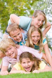 Image of 'children, vertical, fun'