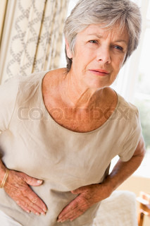 Image of 'pain, stomach, woman'