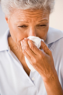 Image of 'sneeze, blowing nose, blowing'