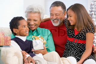 Conversation Between Grandfather And Grandmother With