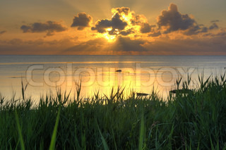Bild von 'hintergrund, reflektion, landschafts-'