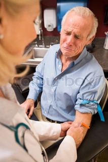 Image of 'scared, blood donor, sample'