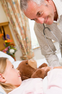 Image of 'hospital, bed, caring'