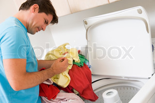 Image of 'man, instructions, cleaning'