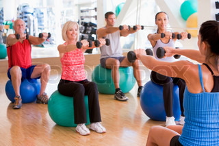 Billede af 'motionscenter, voksen, mennesker'