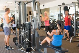 Billede af 'fitness, træning, velfærd'