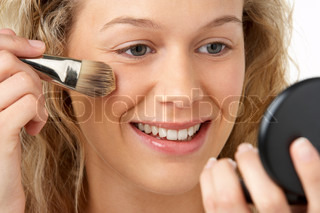Image of 'make-up, attractive, beautiful'