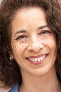 Image of 'woman, age, middle aged'