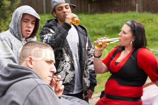 Image of 'alcohol, youth, drunk'