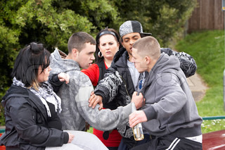 Image of 'alcohol, violence, youth'
