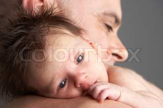 Image of 'father, baby, child'