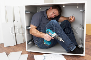 Man Trapped Whilst Assembling Flat Pack Furniture