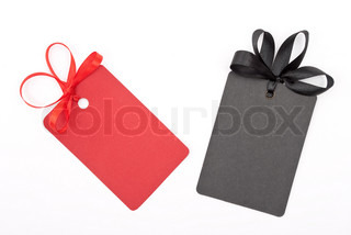 Gift tags with bows