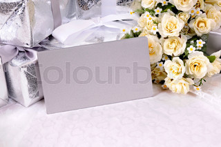 Wedding gifts with invitation envelopes
