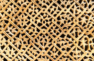 fretwork element of historical monuments