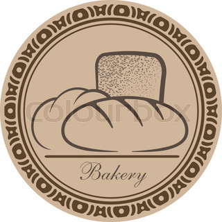 Bakery goods design into decorative round frame