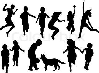 Vector of 'sport, silhouette, people'
