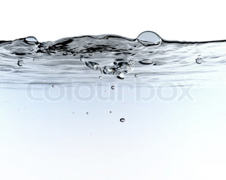 Image of 'underwater, wave, water'