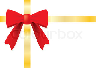 Vector of 'red, retail, ribbon'