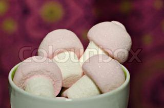 Image of 'marshmallows, candy, treat'