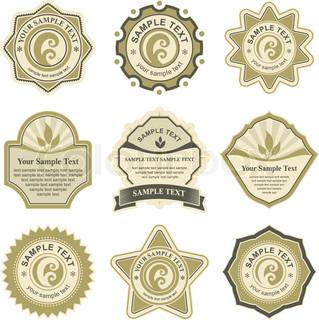 Vector of 'logo, medal, design'