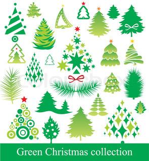 Vektor af 'christmas, grantræ, gran'
