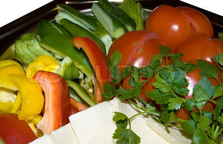Close up of fresh vegetables