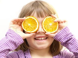 Billede af 'barn, pige, vitamin'