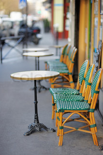 European outdoor cafe