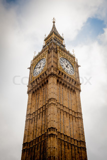 Big Ben tower, London