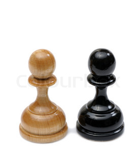 Wooden chess pieces light and dark colors pawn stock photo colourbox - Matching wood pieces of different colors ...
