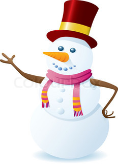 Vector of 'snowman, christmas, tree'