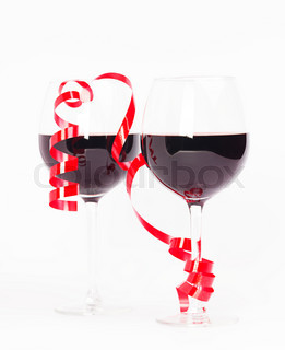 Red wine valentine
