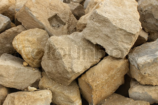 heap big limestone the stones used in construction stock photo colourbox. Black Bedroom Furniture Sets. Home Design Ideas