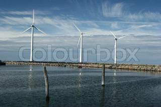 Billede af 'vindkraft, ren energi, Miljø'