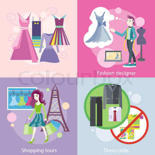 Fashion Designer Design, Shopping Tour, Dress Code