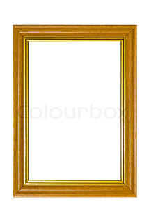 picture frame, isolated on white background