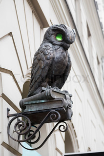 small sculpture of owl