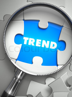 Trend through Lens on Missing Puzzle.