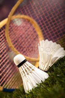 Group of sports equipment, natural colorful tone