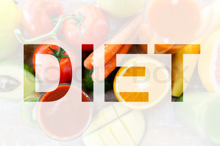 healthy eating and vegetarian diet concept