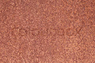 Rusty iron sheet with corrosion texture