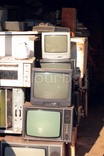 dumping of old appliances