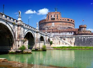 Rome. Italy. Castel Sant' Angelo