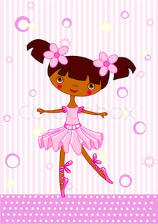 Vector of 'princess, vector, ballet'