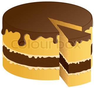 Vektor af 'kage, dessert, Festival'