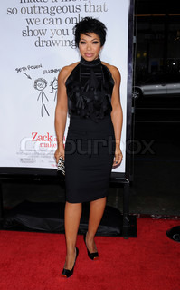 Tisha Campbell at the 'Zack and Miri Make a Porno' Los Angeles premiere held at Grauman's Chinese Theatre - 20081020