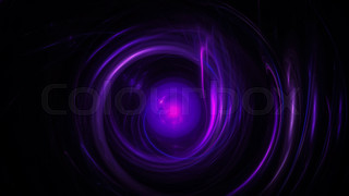 Dark purple background with circles