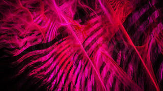 Abstract red chaos of energy stripes